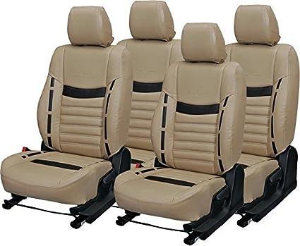 Sai Auto Zone PU Leather Multicolor Sear Cover For Chevrolet Beat