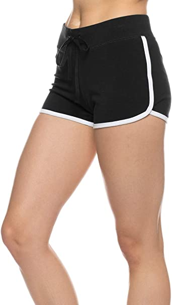 Urban Look Womens Dolphin Running Workout Shorts Yoga Sport Fitness Short Pant