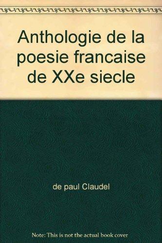 Anthologie De La Poesie Francaise [Pdf/ePub] eBook