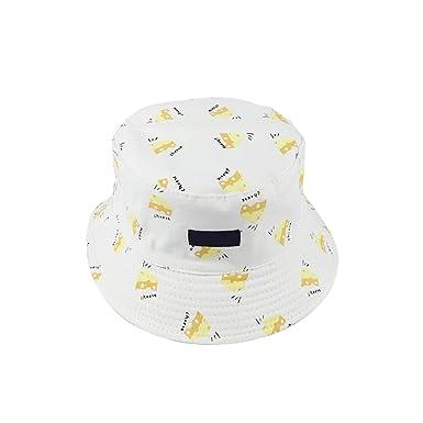 une autre chance site web pour réduction qualité et quantité assurées Westeng Femmes Chapeau Bob Pêcheur Motif de Radis en Coton Double Face  Chapeau de Soleil Pliable Anti-UV 56-58cm