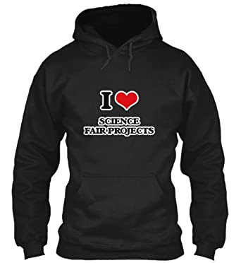 Amazon com: I Love Science fair Projects Sweatshirt - Gildan