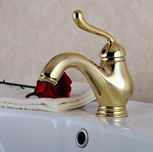 10 LHbox Basin Mixer Tap Bathroom Sink Faucet The golden basin Faucet 67