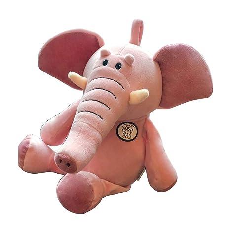 Juguete Cojín Almohada de Elefante Juguete de Peluche Muñeca ...