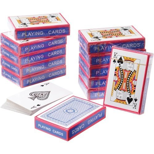ECONOMY PLAYING CARDS, Sold By Case Pack Of 8 Dozens by DollarItemDirect