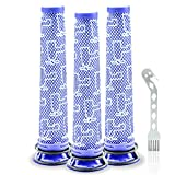 3 Pack Washable Pre Filters Replacements Compatible with Dyson V6 V7 V8 DC58 DC59 DC61 DC62 DC74 Cordless Vacuum Cleaners, Replacements Part # 965661-01