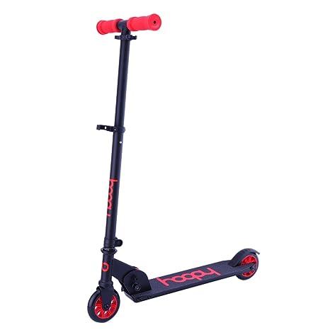 NIANPU Patinete plegable de dos ruedas para niños