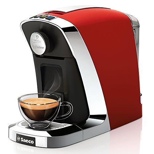 Tchibo Saeco Cafissimo Tuttocaffè - Cafetera de cápsulas, 0.7 L, color rojo: Amazon.es: Hogar