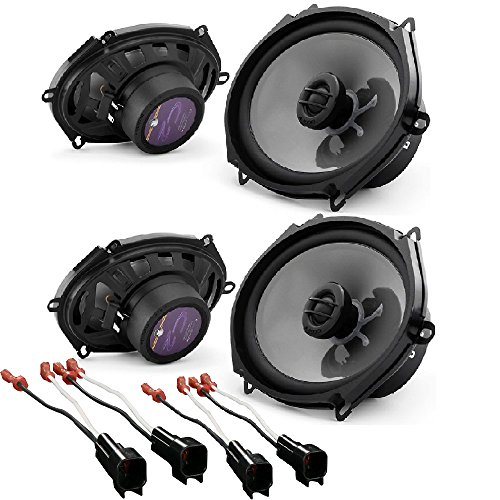JL Audio C2-570x 5x7 2-Way Car Audio Speakers  W/Metra 72-56