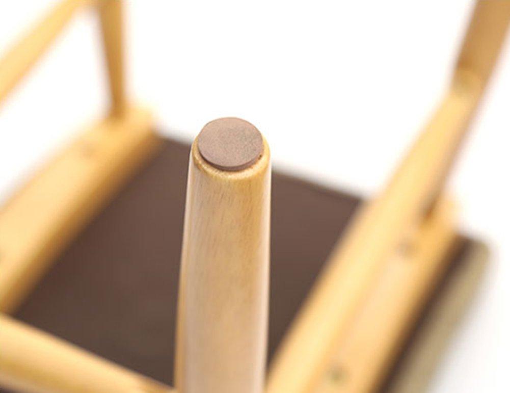 HJHY® Sofá taburete Banco de zapatos de madera maciza Simple ...
