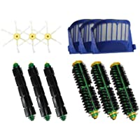 iRobot Roomba 550 Series Vacuum Cleaner Accessory Kit Replacement -Kit Includes: 3 Filters, 3 Side Brushes, 3 Flexible Beater Brushes, 3 Bristle Brushes
