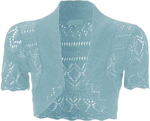 WearAll - Manche Courte Crochet Tricot