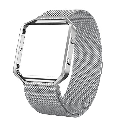 SWEES for Fitbit Blaze Bands with Frame Metal Small (5