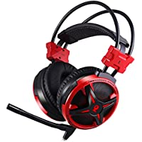 AUSDOM Gaming Headset AGH2 USB Surround Stereo Wired PC Headset Over Ear Headphones with Mic