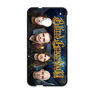 HTC One M7 Cell Phone Case Covers Black Blind Guardian