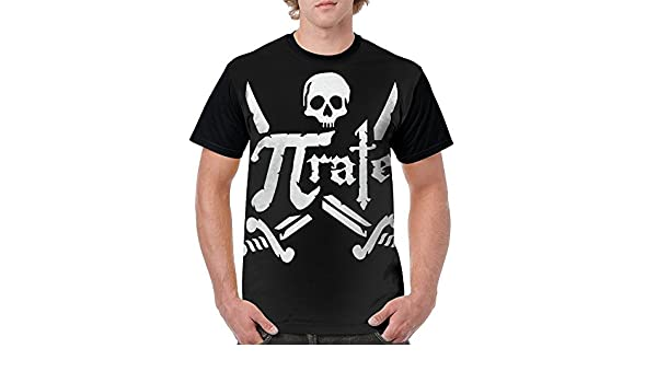 Amazon.com: Yyerttrye Pirate Swords Cross Fashion Round ...