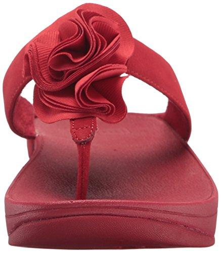 Fitflop Womens Florrie Toe-thong Sandal Klassiske Røde ...