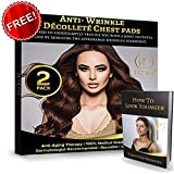 Decollette Pad For Chest Wrinkles Anti Wrinkle Chest Pads Chest Pads –2 COUNT - Silicone Wrinkle Pads Reusable for Chest Wrinkles, Chest Wrinkle Prevention, Medical Silicone Patch