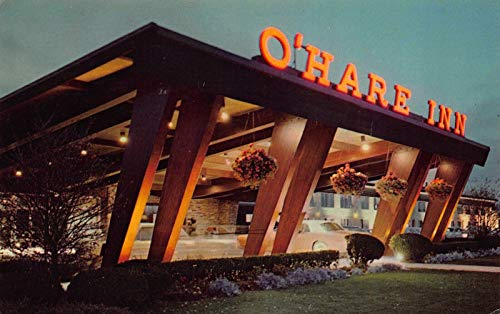 Postcard O'Hare Inn Airport Hotel in Des Plaines, Illinois~120114