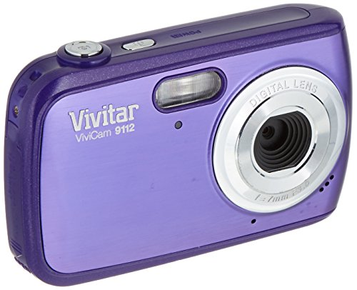 Vivitar 9112SL ViviCam 9 MP Digital Camera with 1.8-Inch ...