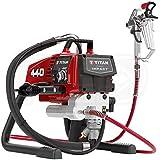Titan 440 Impact 3300 PSI .54 GPM Electric Airless Sprayer Skid w/Gun, Hose & Tip