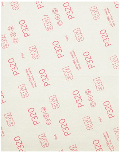 3M COMPANY 28320SB-UF4 320G Sandpaper (4 Pack)