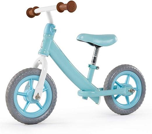 Chenglian Bicicleta de Equilibrio Bicicleta De Equilibrio para Niños, Niños Y Niñas De Metal, Carrera para Correr Bicicleta De Entrenamiento para 2-6 Años (Color : Azul): Amazon.es: Hogar