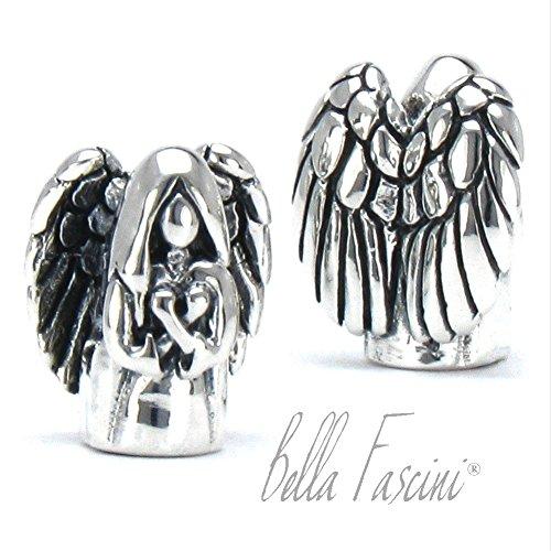 Bella Fascini Guardian Angel Memorial European Bead Charm