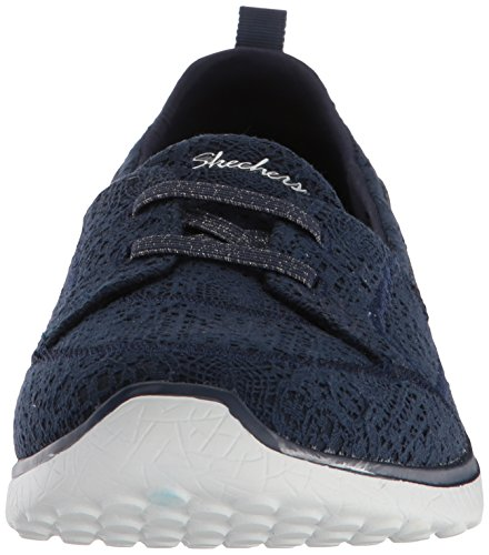 Skechers Women's Microsburst Gentle Gauze Sneaker Navy cheap sale real outlet low cost 100% original for sale free shipping wholesale price BlfQom5w
