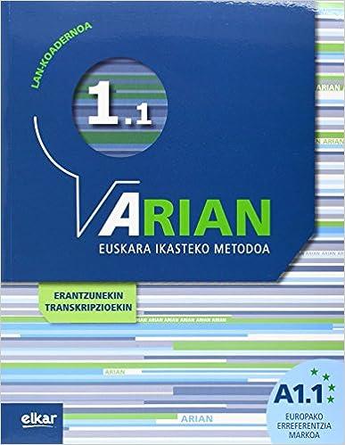 Arian A1.1. Lan-koadernoa: por Batzuen Artean epub