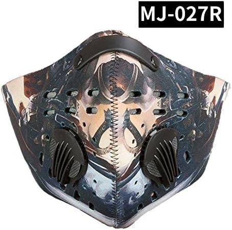 ruimin anti-contaminación máscara aire libre equitación antiniebla ...