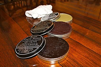 Jacpol Beeswax English Formula Antique Furniture Wax Polish (Dark Shade) -  5oz 142g by - Amazon.com: Jacpol Beeswax English Formula Antique Furniture Wax
