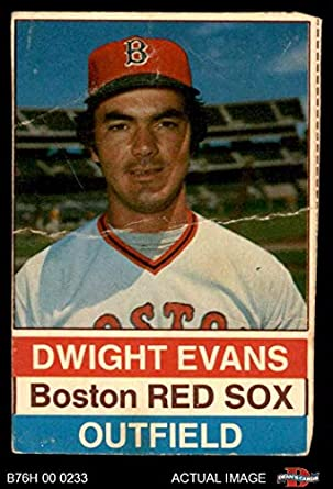 Amazoncom 1976 Hostess 87 Dwight Evans Boston Red Sox
