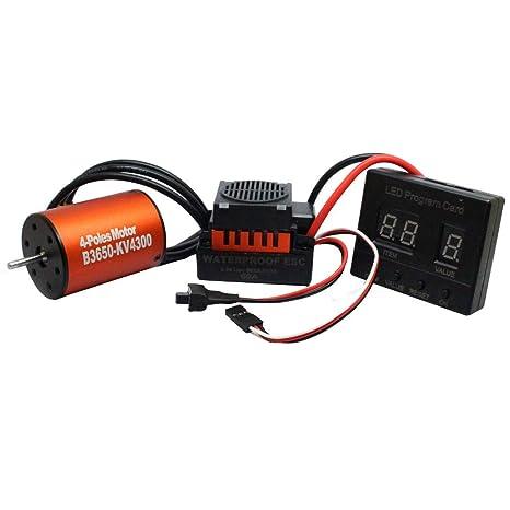 Amazon com: Solovley Brushless Motor Sensorless, Waterproof