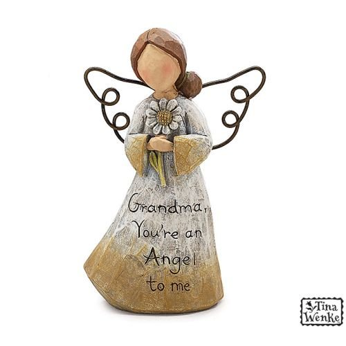 Grandma Youre an Angel Figurine by Tina Wenke | Perfect Gift for Grandmother in Gift Box