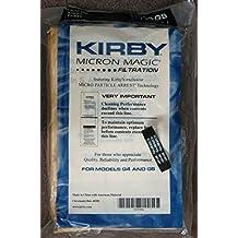 9 Kirby Sentria Micron Magic G3-6 G4 G5 Vacuum Bags 197394 + 1 kirby belt 301291