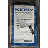 9 Kirby Sentria Micron Magic G3-6 G4 G5 Vacuum Bags 197394 + 1 kirby belt 301291