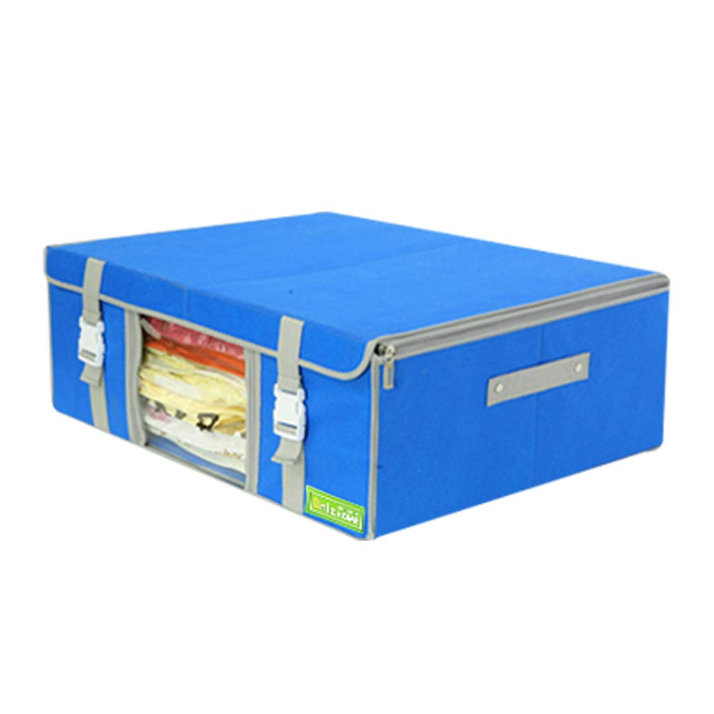 Longchaoshop Caja de Almacenamiento no Tejida Caja Caja Caja de Almacenamiento Caja Inferior Caja de Almacenamiento Ropa Edredón Caja de Almacenamiento Grande 1e8288