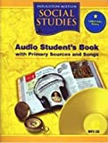 Social Studies: Audio Student's Book with Primary Sources and Songs, Level 5 (Houghton Mifflin Social Studies)