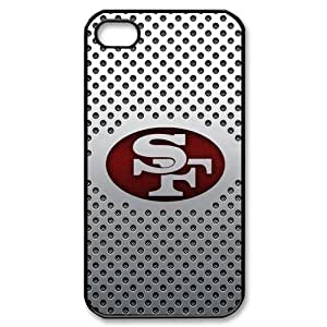 Godstore Custom New Style NFL San Francisco 49ers Logo Cover Hard Plastic Case For Ipod Touch 4 Cover Case
