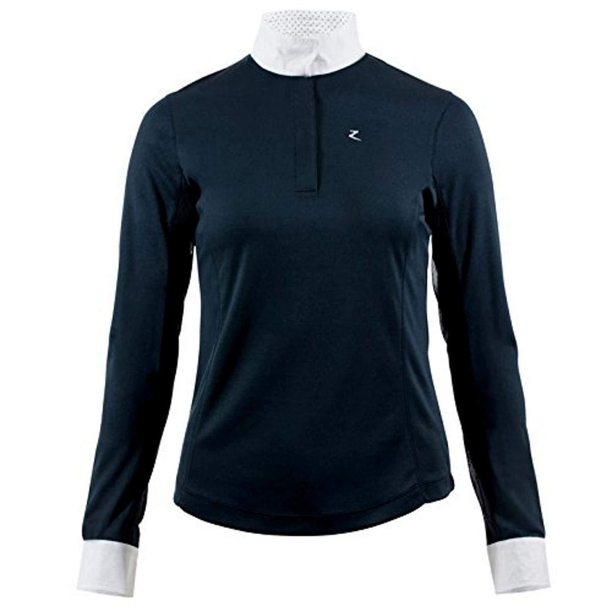 Horze Blaire Ladies UV Ice Fit Long Sleeve Show Shirt