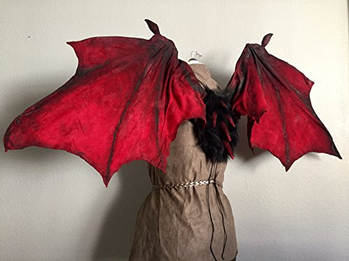 GoT Drogon Inspired Articulating Costume Dragon Wings by StudioACM