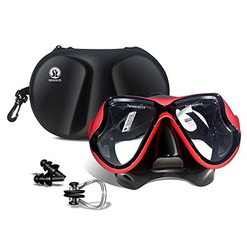 SHAOLIN Diving Mask Nose Cover Swim Goggles for men Adult Swim Mask Dive Snorkel Mask Swimming Mask