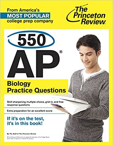Amazon com: 550 AP Biology Practice Questions (College Test