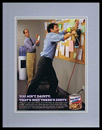 2008 Dinty Moore Beef Stew 11x14 Framed ORIGINAL Advertisement ()