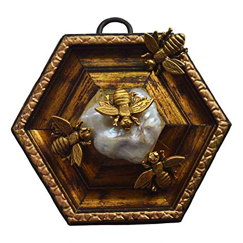 Museum Bees - Gilt Frame w/Napoleonic Bees - 4