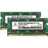 Adamanta 16GB (2x8GB) Laptop Memory Upgrade DDR3/DDR3L 1600Mhz PC3L-12800 SODIMM 2Rx8 CL11 1.35v Notebook RAM DRAM