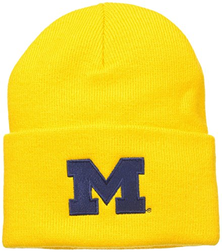 NCAA Michigan Wolverines Acrylic Watch Hat, Spectra Yellow, One Size