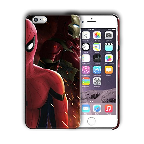 Superheroes design for Iphone 6 6s (4.7in) Hard Case Cover (spide8)