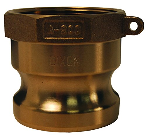 Dixon G125 A Ss 1 1 4  Global Female Npt X Male Adapter  1 25  Id  316 Investment Cast Stainless Steel