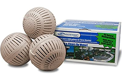 Healthy Ponds 51120 Aquasphere Pro Biodegradable Pond Treatment, Treats up to 1,000 Gallons